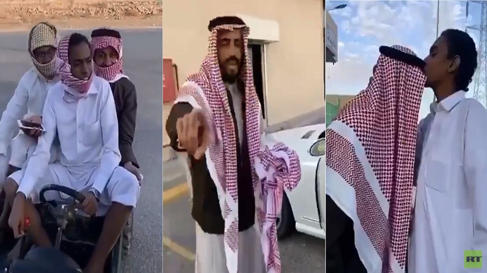 رد فعل غير متوقع لسعودي طلب من شاب بيعه دراجته! (فيديو)