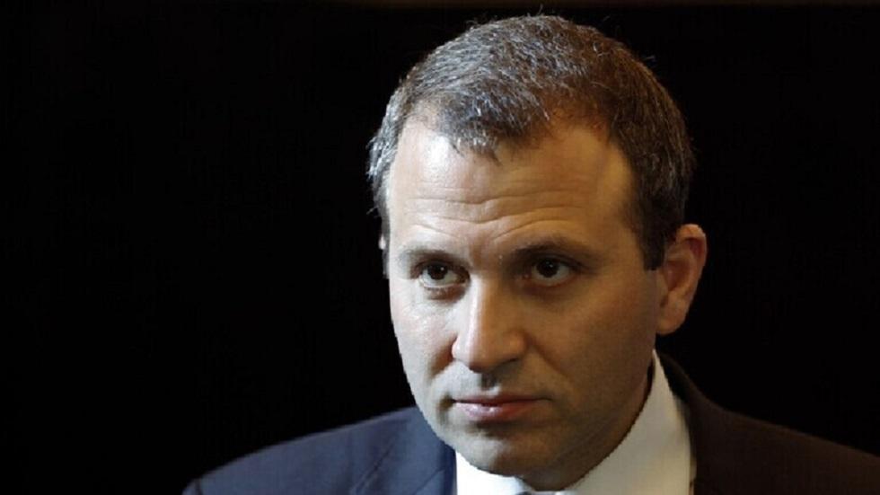 وزير الخارجية اللبناني- جبران باسيل