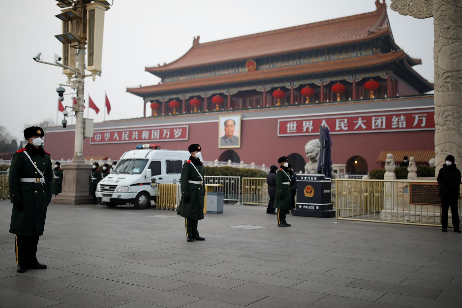بوابة تيانانمن في بكين