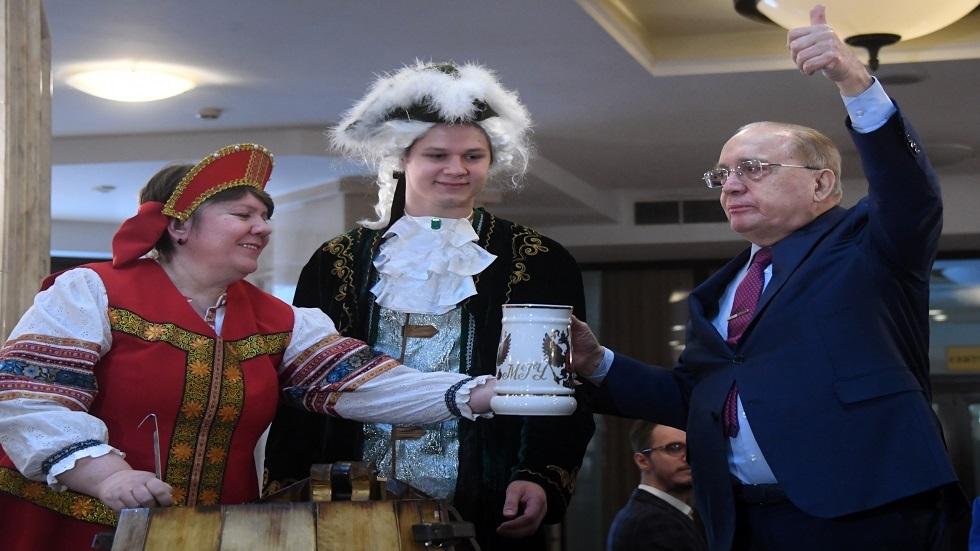 جامعة موسكو تحتفل بعيد ميلادها الـ265