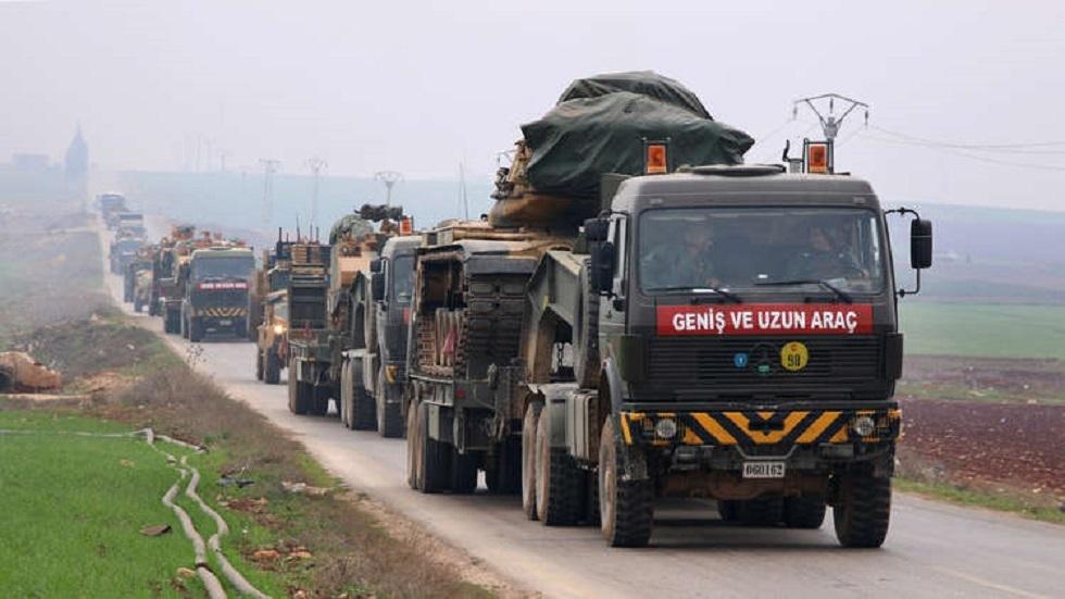 تركيا تعزز قواتها في الجنوب وداخل الأراضي السورية