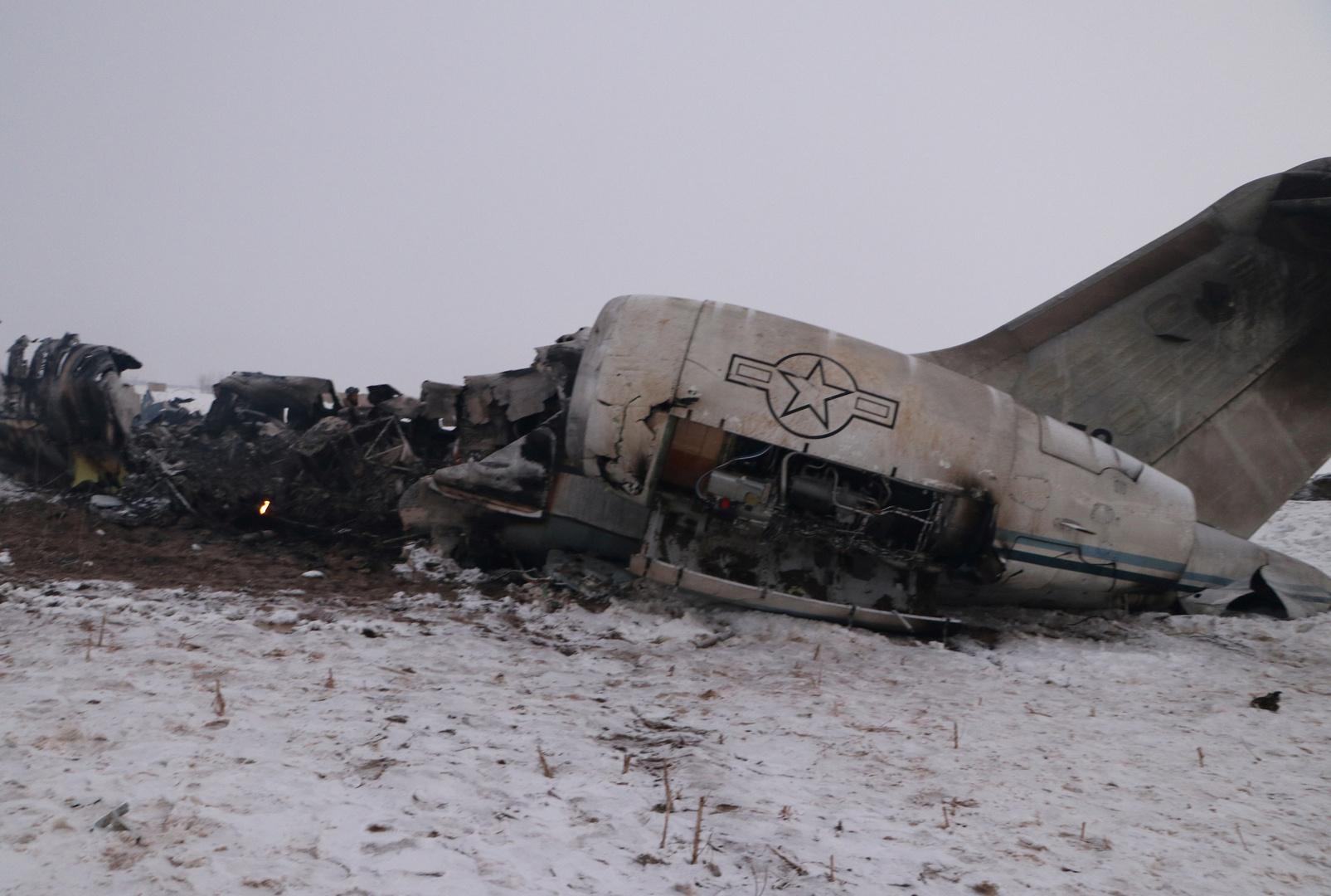 البنتاغون: انتشال بقايا جثث قتلى حادثة تحطم الطائرة الأمريكية بأفغانستان ويجري التدقيق في هوياتها