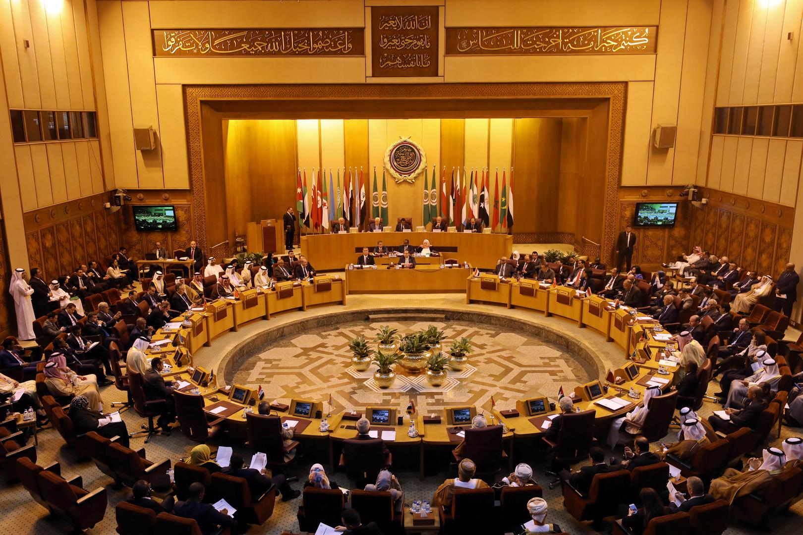 اجتماع لجامعة الدول العربية حول خطة السلام الأمريكية في الشرق الأوسط (القاهرة، 21 أبريل 2019).