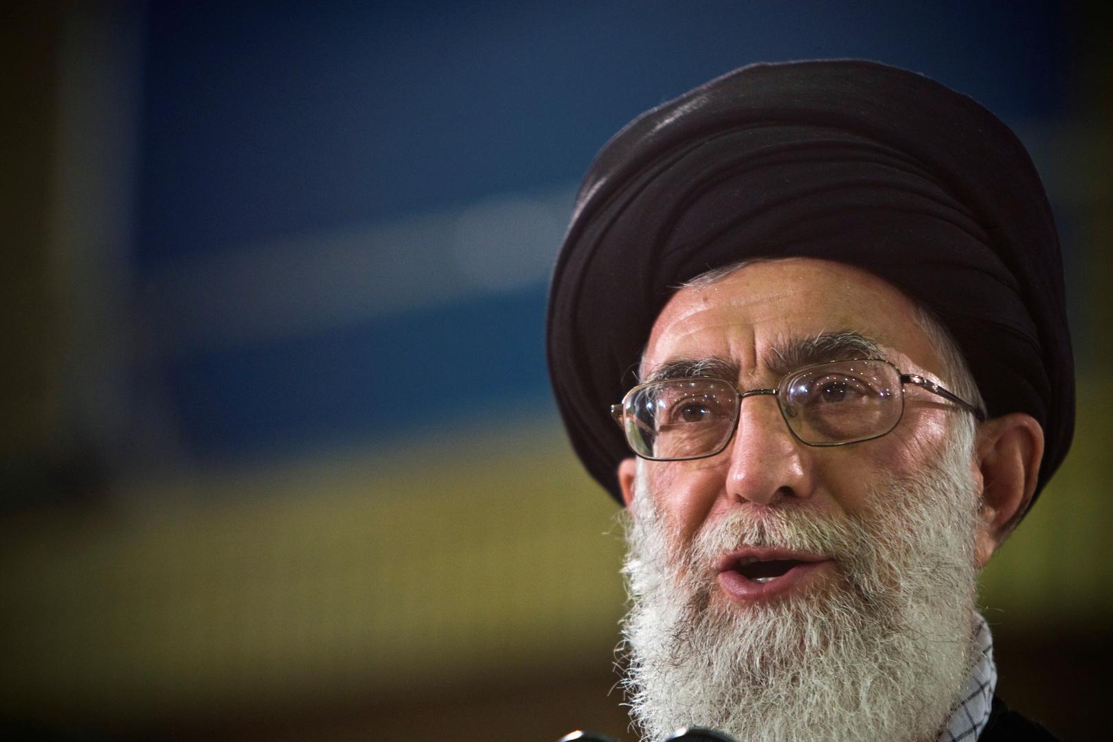 المرشد الأعلي الإيراني علي خامنئي