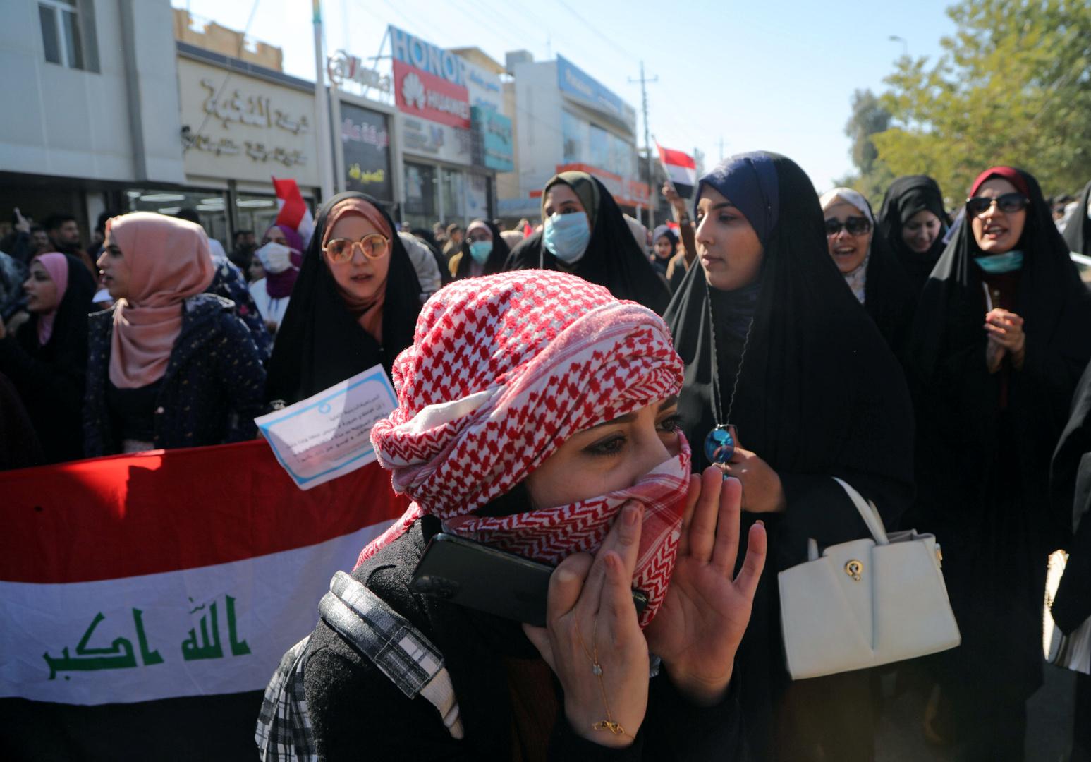 العراق.. 121 حالة اختطاف على الأقل منذ بدء الاحتجاجات