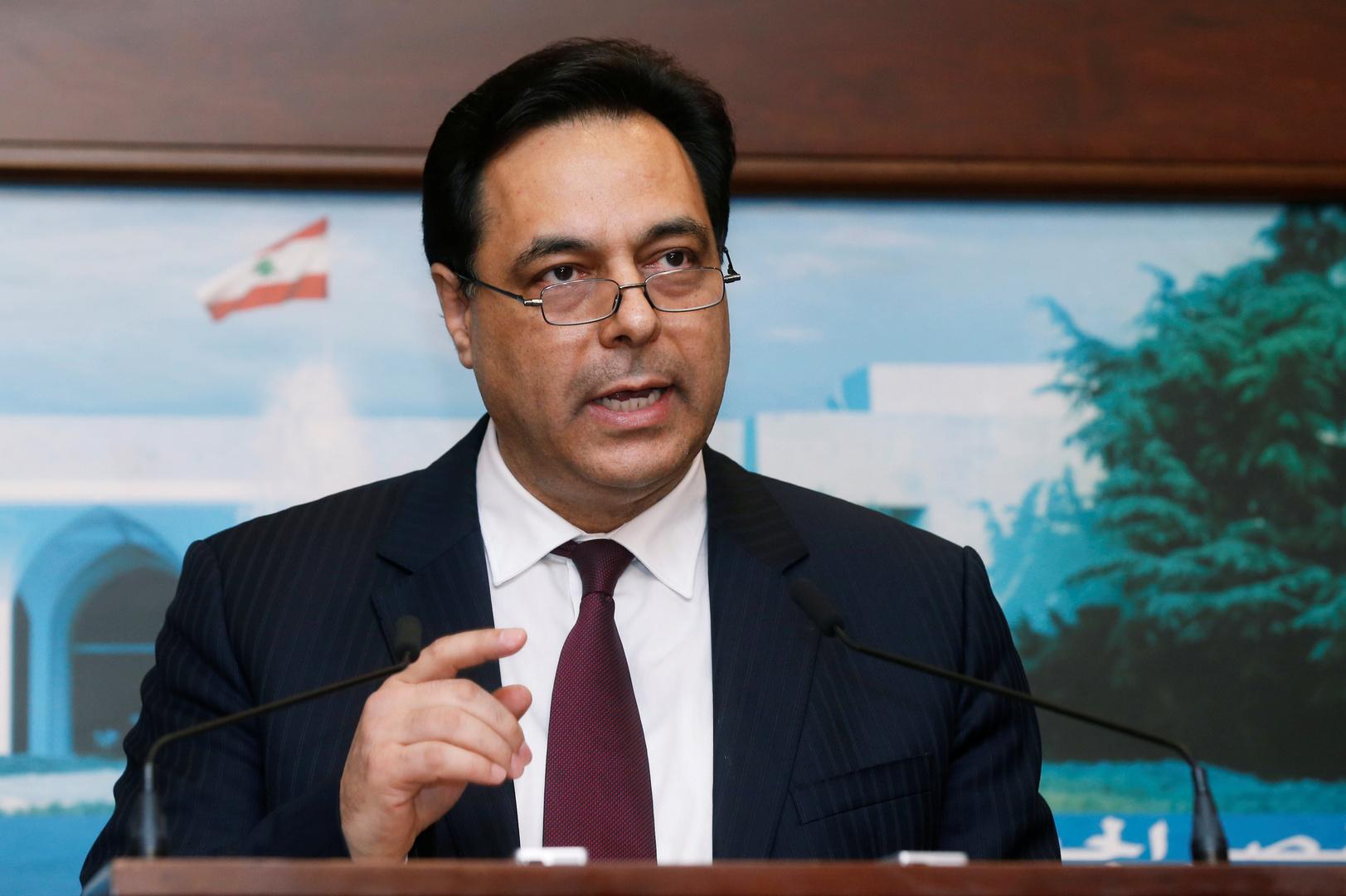 حسان دياب، رئيس حكومة لبنان