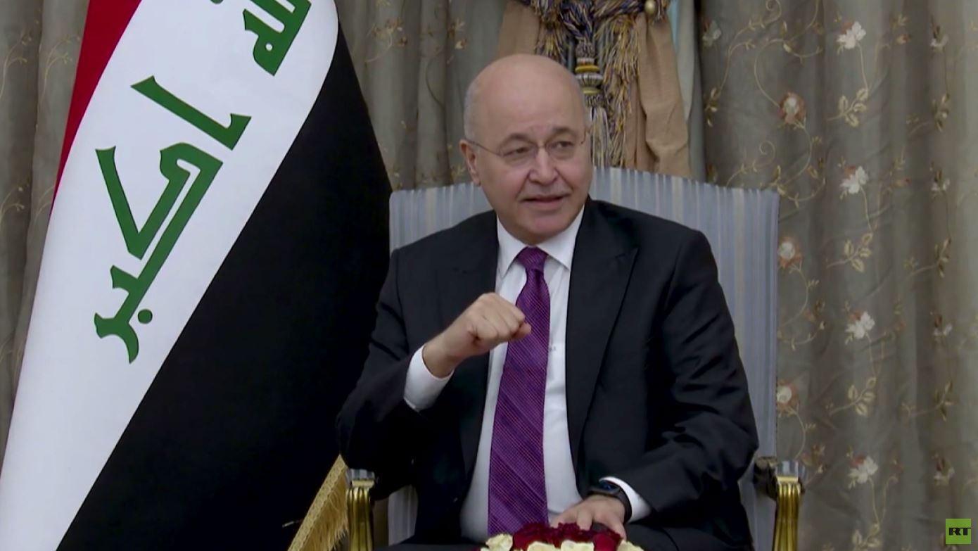 رسالة برهم صالح إلى القوى السياسية العراقية