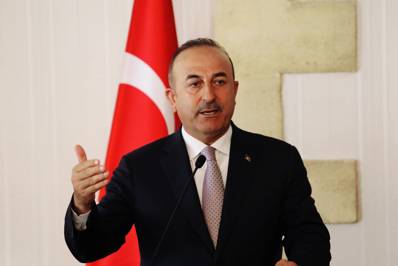 زير الخارجية التركي، مولود تشاووش أوغلو