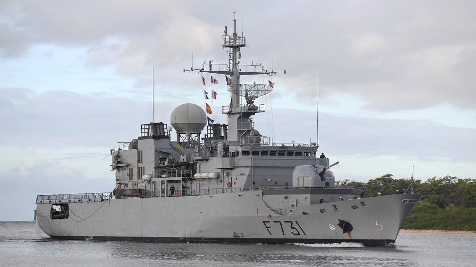 فرقاطة تابعة للبحرية الفرنسية - أرشيف