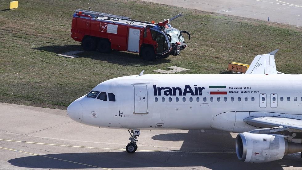 إيران تعلق الرحلات الجوية من وإلى الصين