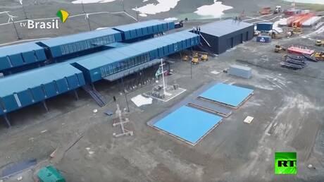 البرازيل تدشن قاعدة علمية في أنتاركتيكا