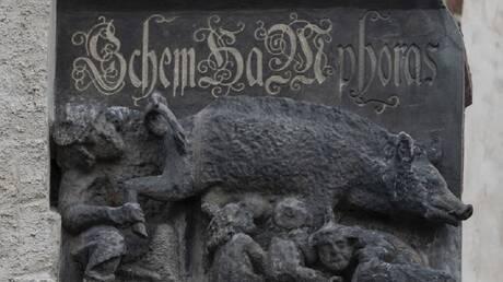 """معركة قضائية في ألمانيا بسبب منحوتة تاريخية """"معادية للسامية"""""""