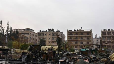 سوريا.. مقتل مدني وإصابة 2 بقذائف المسلحين في حلب