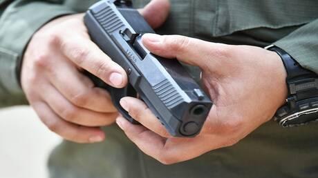 """اختبار نسخة رياضية لمسدس """"أوداف"""" العسكري"""