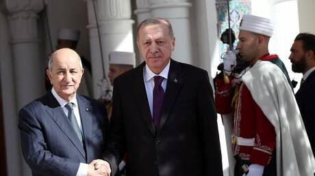 تبون: علاقتنا مع تركيا تاريخية وسنرفع حجم التبادل التجاري بيننا إلى 5 مليارات دولار
