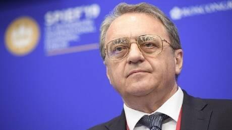 بوغدانوف: وقف العمليات القتالية في ليبيا ينفذ لكن هناك بعض الانتهاكات