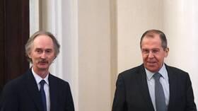 موسكو: لافروف يبحث مع بيدرسن غدا الدائرة الكاملة لقضايا التسوية السورية