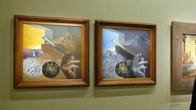 سرقة لوحات الفنان الإسباني سلفادور دالي بستوكهولم