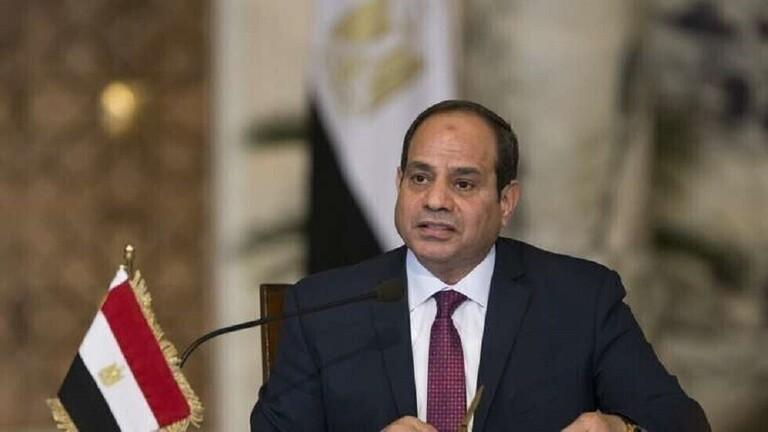 السيسي يحذر من خطر نقل المسلحين من سوريا إلى ليبيا على دول الجوار