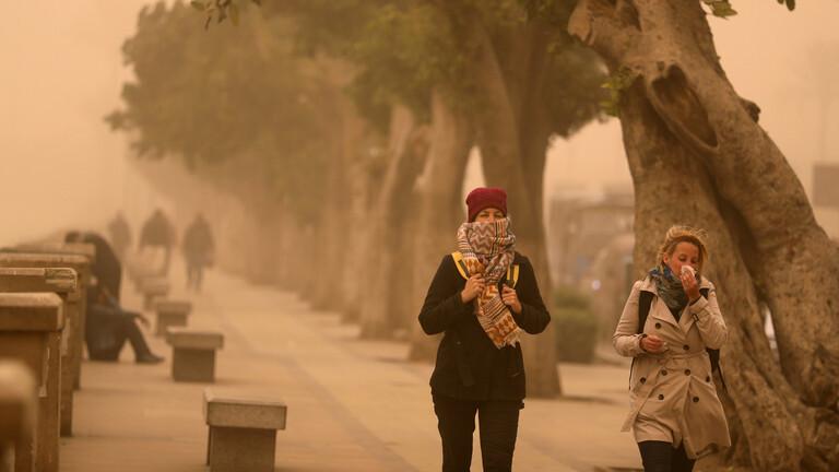 الأرصاد الجوية المصرية تحذر الثلاثاء: