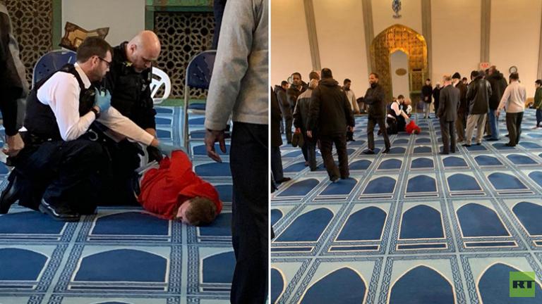 عملية طعن داخل مسجد في شمال لندن