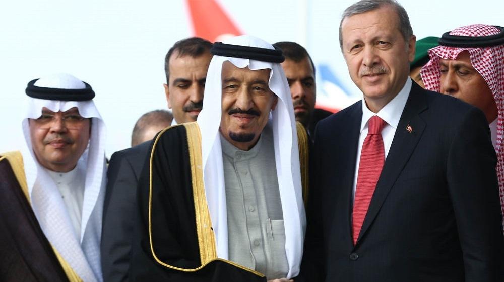 السعودية ترد على هجوم أردوغان بالصوت والصورة