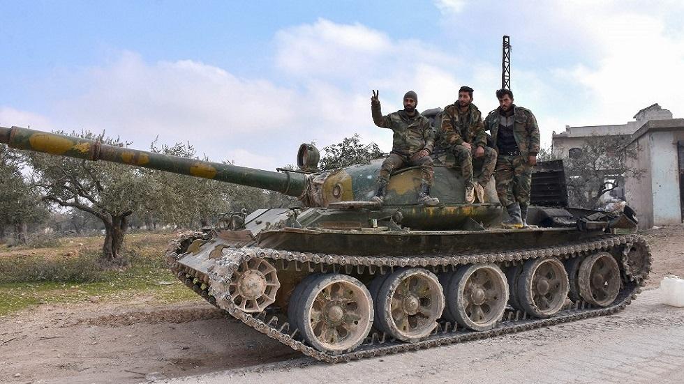 الجيش السوري يحرر قريتين بريف إدلب الشرقي