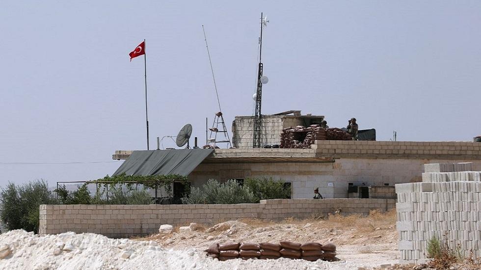 الجيش التركي ينصب ثالث نقطة مراقبة قرب سراقب السورية