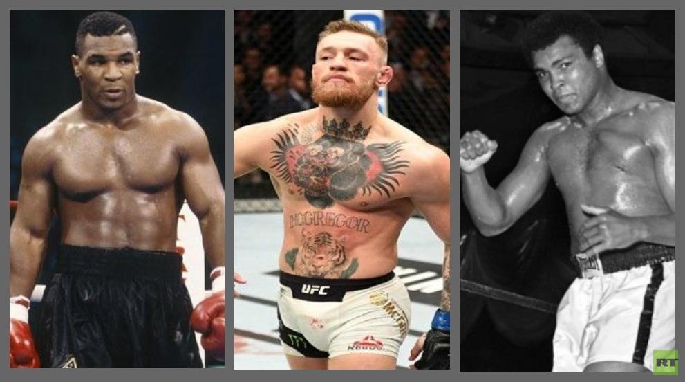 رئيس منظمة UFC يمدح ماكغريغور ويساويه بمحمد علي وتايسون