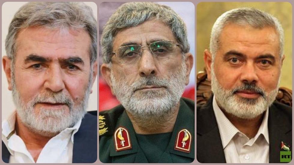 قآني يؤكد لحماس والجهاد الإسلامي وقوف إيران بوجه