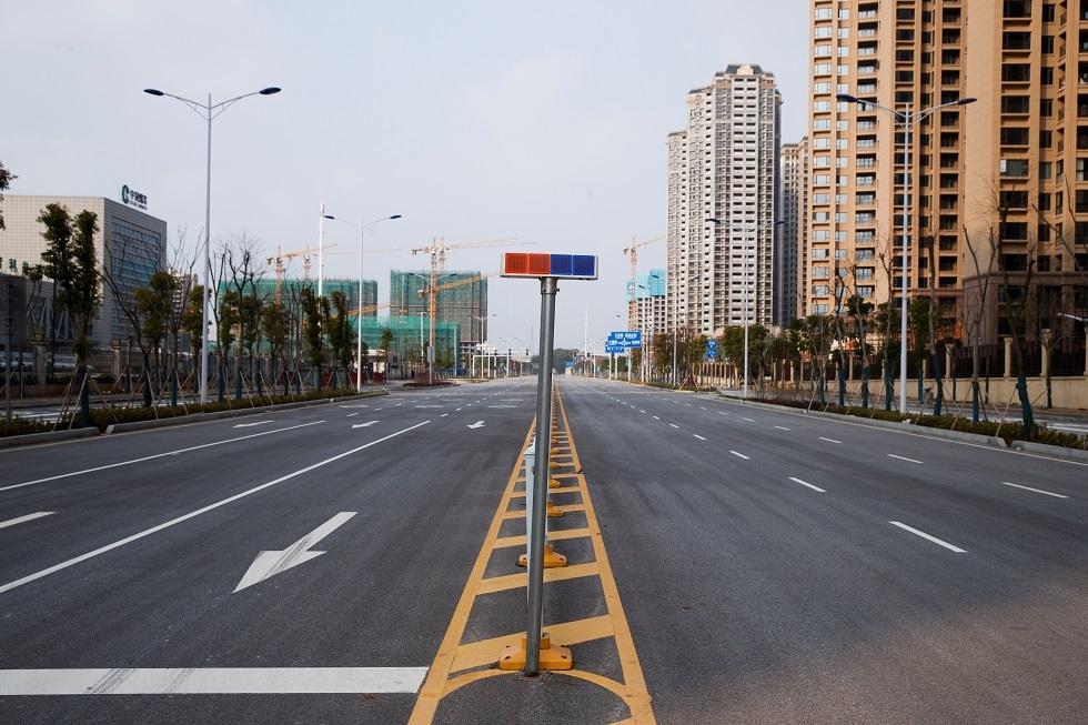 الشلل يصيب مدينة ونتشو الصينية بسبب
