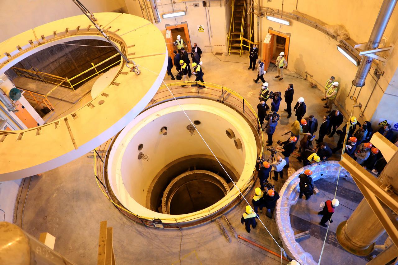 مفاعل الماء الثقيل في منشأة