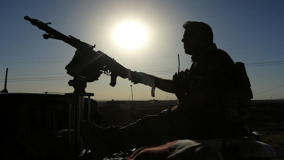 أحد أفراد قوات البيشمركة الكردية - أرشيف