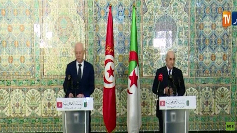 توافق جزائري تونسي حول التسوية في ليبيا