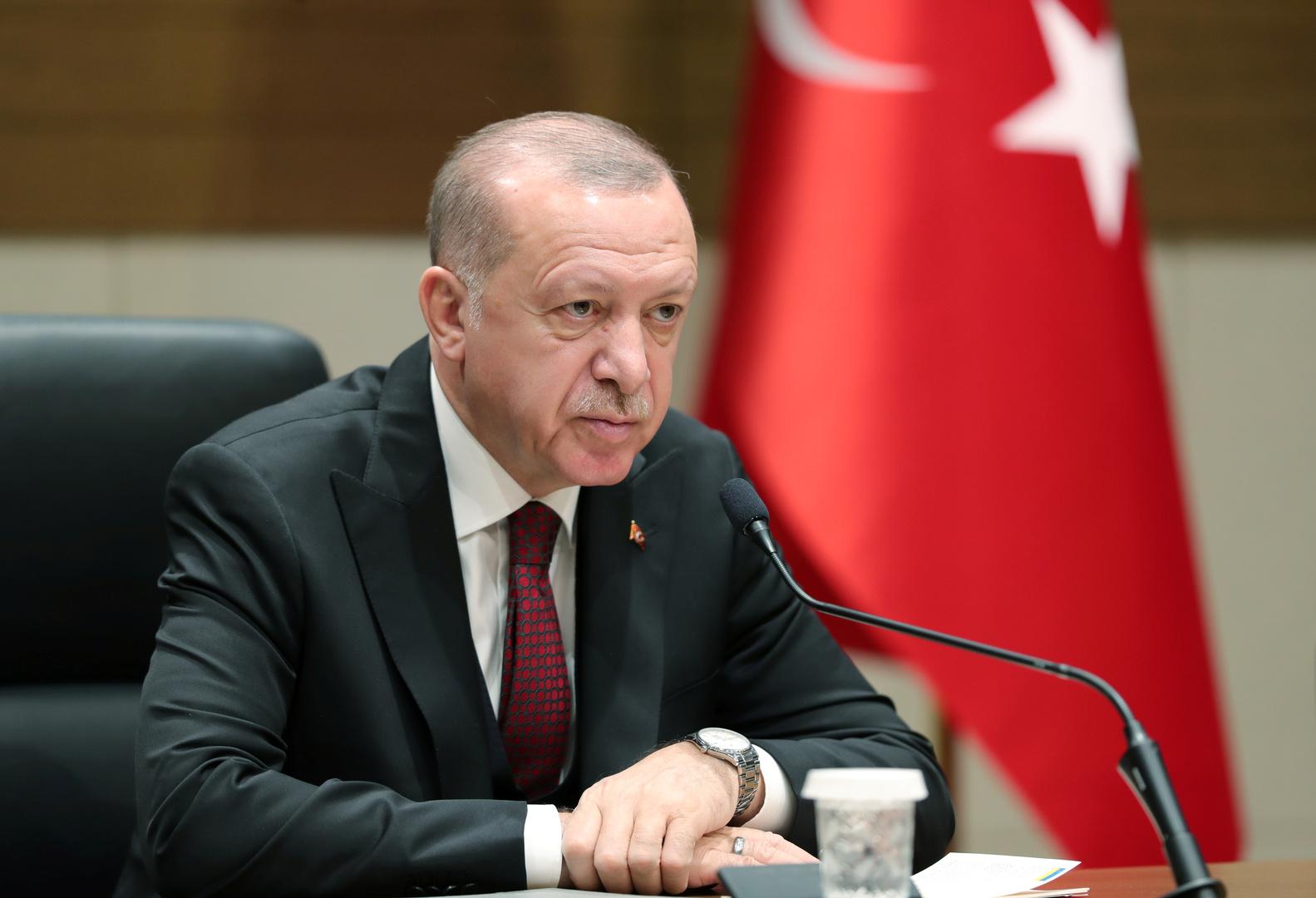 أردوغان: أنقرة لم ولن تعترف بـ