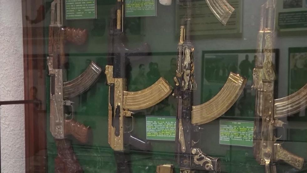 متحف سري لحرب المخدرات في المكسيك