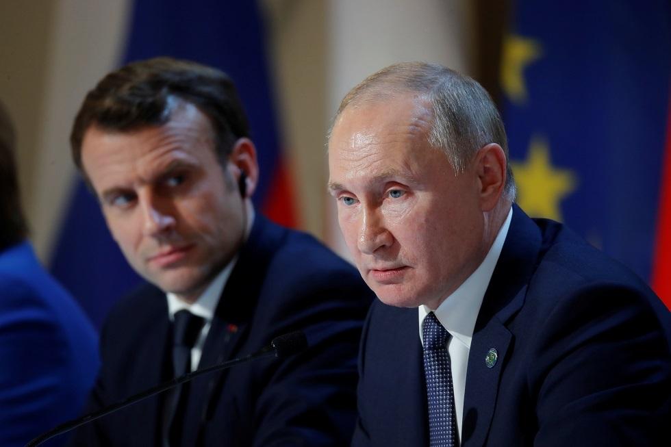 ماكرون: فكرة إعادة إطلاق الحوار مع روسيا أثبتت نجاعتها
