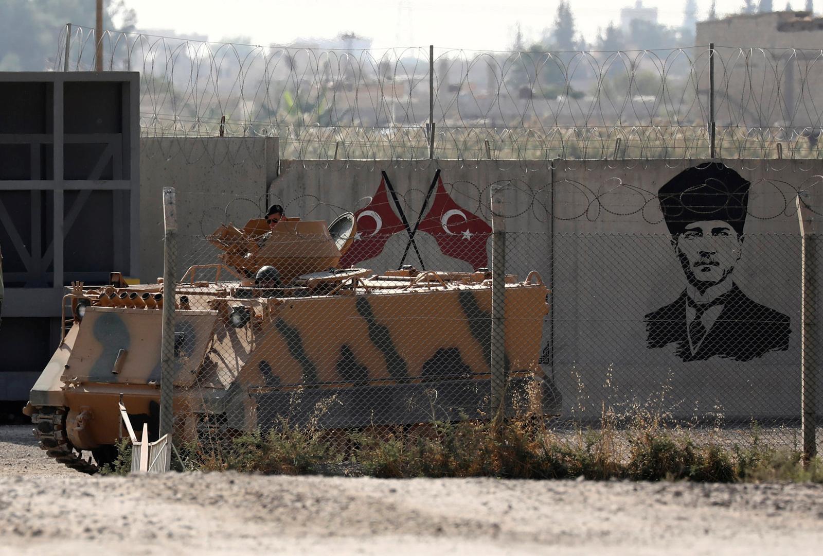 الحدود التركية السورية- أرشيف