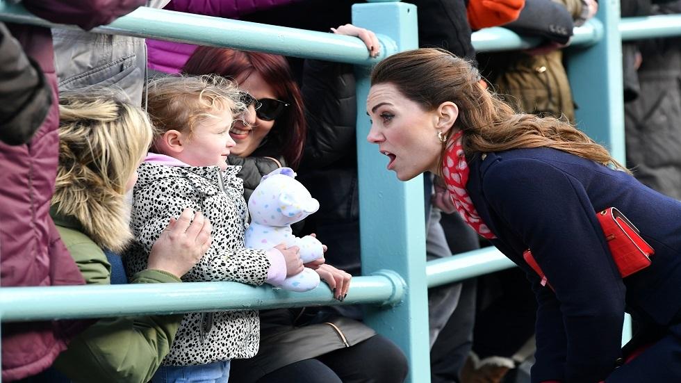 كيت ميدلتون والطفلة أنابيل