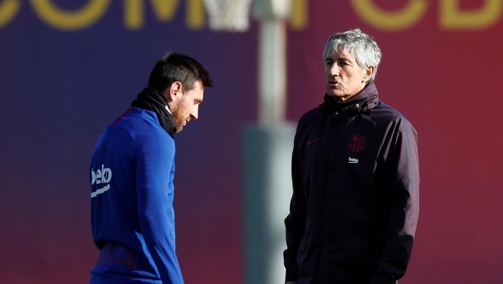 مدرب برشلونة: لست والد ليو.. وله الخبرة في ما يقرر