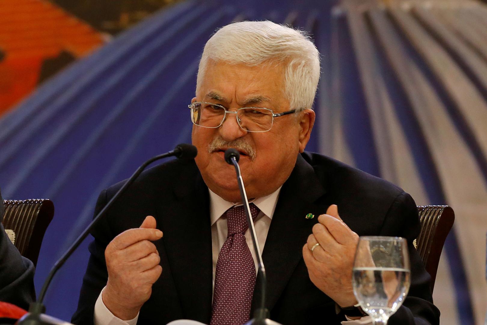 محمود عباس، رئيس السلطة الفلسطينية