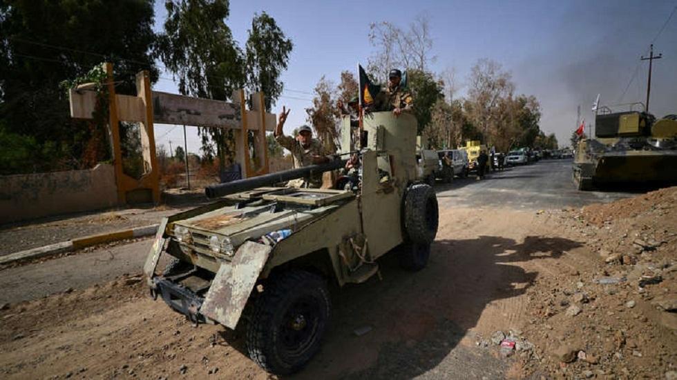 عناصر للحشد الشعبي في العراق - أرشيف