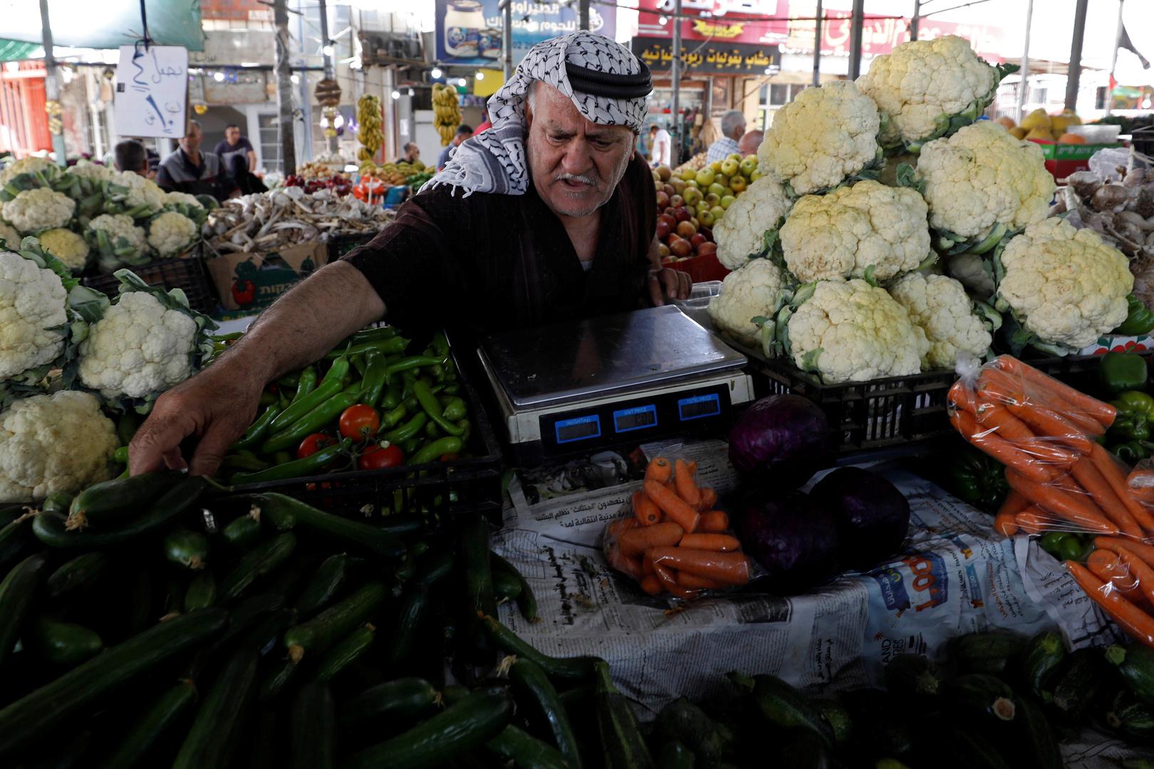 سوق في رام الله