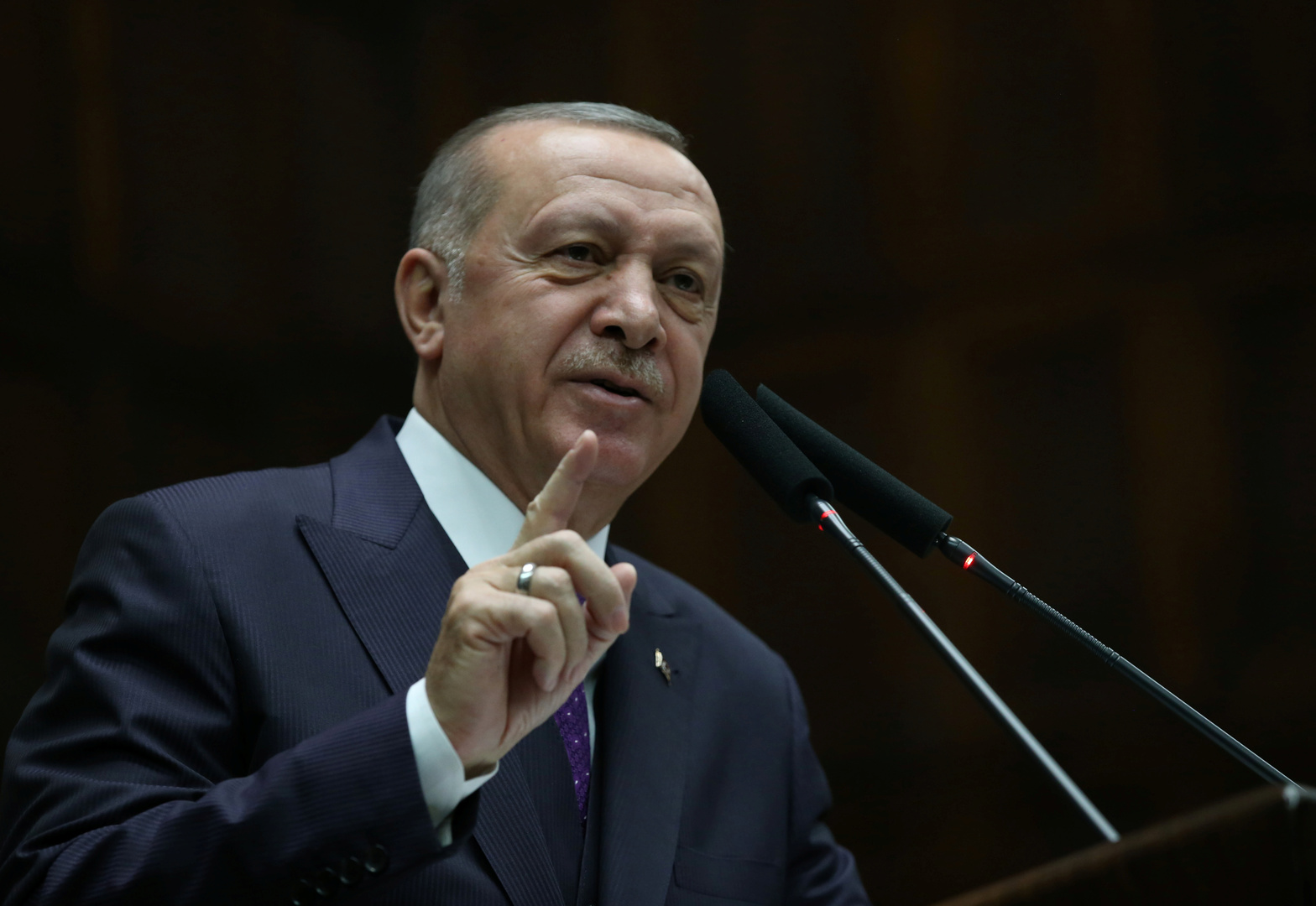 أردوغان: رد فعل تركيا على