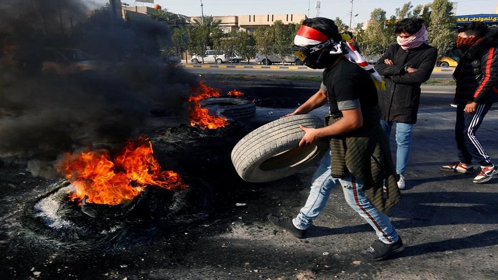 فرنسا تدين العنف ضد المحتجين في النجف العراقية