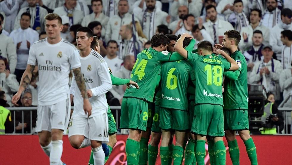 شاهد.. ريال مدريد يكتوي بنار لاعبه المعار لسوسييداد