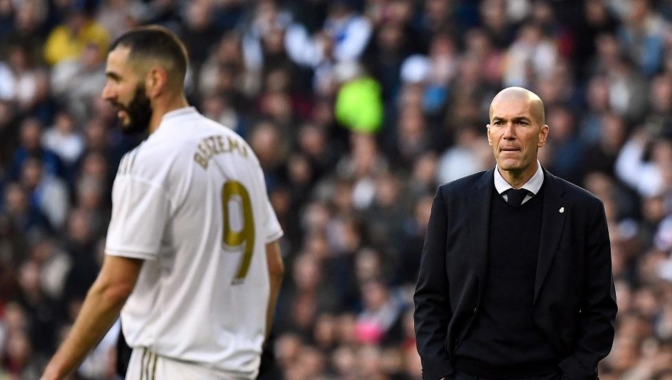 أول تعليق لزيدان على هزيمة ريال مدريد المدوية