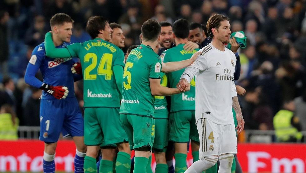 قاهر ريال مدريد يواجه فريقا مغمورا في المربع الذهبي لكأس الملك