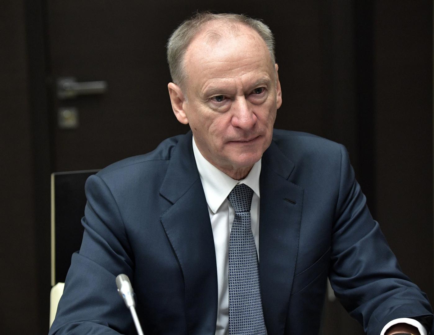 سكرتير مجلس الأمن الروسي، نيقولاي باتروشيف