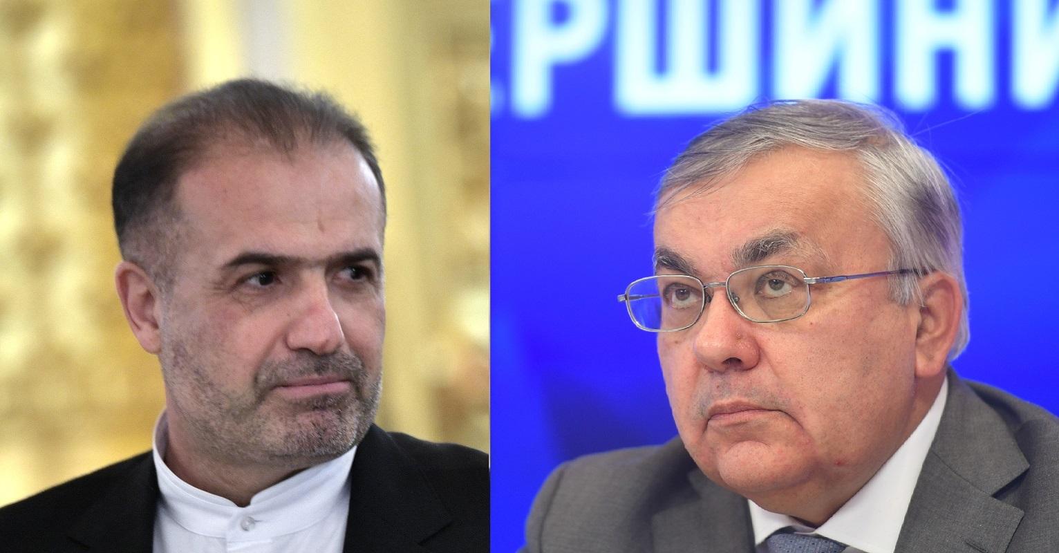 محادثات روسية إيرانية بشأن التطورات حول سوريا